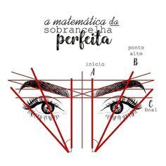 icu ~ Aprenda a matemática da sobrancelha! Eyebrow Makeup Tips, Permanent Makeup Eyebrows, Beauty Makeup, Hair Makeup, Eyebrow Tinting, Mircoblading Eyebrows, Natural Eyebrows, Eyebrow Design, Perfect Eyebrows