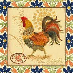 Provencal Rooster Ventimille (Jennifer Brinley)