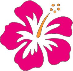 Flower Clip Art Hawaiian Flowers Clip Art Re Help With Hibiscus Hibiscus Clip Art, Hibiscus Plant, Hibiscus Flowers, Hawaiian Quilt Patterns, Hawaiian Quilts, Art Floral, Flower Crafts Kids, Flower Graphic Design, Mallow Flower