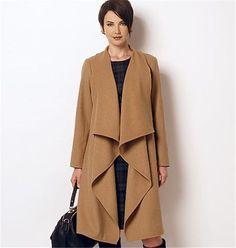Patron de manteau et robe - Butterick 6244 - Rascol