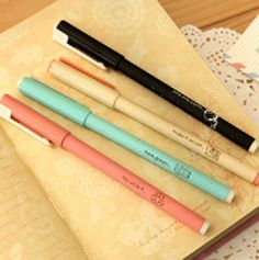 simple, sophisticated eco friendly pen, slim and easy to use. great quality, thin tip to ensure great handwriting