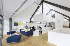 Build's double-height studio space