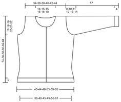 """DROPS jakke i 2 tråde """"Alpaca"""". Str S - XXXL. ~ DROPS Design"""