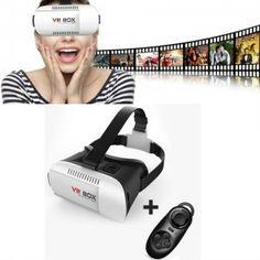 VR BOX - 3D Virtuális valóság szemüveg távirányítóval