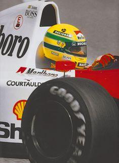 Ayrton Senna photo