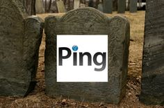 Apple killed its social music service Ping.