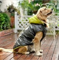 Large Dog Winter Snow Clothes Warn Jacket Cotton Padded Coat 72cm Length Golden Retriever Labrador Samoyed Dog Clothes  From plonlineventures.com At Your Aliexpress link