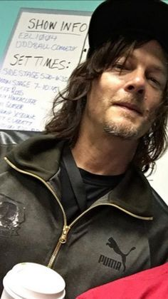 Norman Reedus #theWalkingDead ❤️❤️❤️