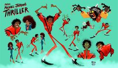 """hebro character design: """"The greatest education in the world is watching the masters at work"""" -Michael Jackson-"""