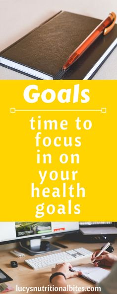 Focused on yourself and setting goals to achieve and boost your health, diet and fitness motivation.
