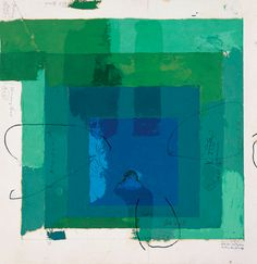 Josef Albers | Study for Homage to the Square