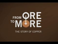 Created by Rio Tinto and Kennecott Utah Copper, this great six minute video explains the story of copper from start to finish. 4th Grade Science, Texts, Copper, Messages, Minerals, Youtube, Videos, Fourth Grade Science