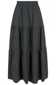 Fabiana Filippi Damen Rock Olivegrün | SAILERstyle Rock, Skirts, Fashion, Italian Designers, Knit Jacket, Cotton, Gowns, Moda, Skirt