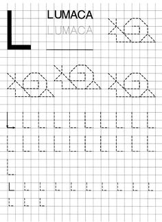 Preschool Writing, Kindergarten Math Worksheets, Writing Activities, Nursery Worksheets, Letter Tracing Worksheets, Graph Paper Art, Visual Learning, Simple Math, Pre Writing