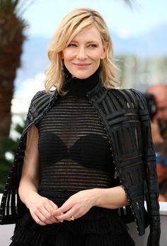 Cate Blanchett at Cannes Film Festival