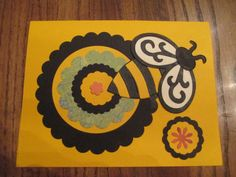 Bee Card ~ 2012 ~  Bee careful, Bee happy, Bee all you can Bee, & remember the love from Granny Picky.
