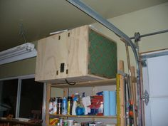 Another, home made, shop air cleaner. It blows big time! - by b2rtch @ LumberJocks.com ~ woodworking community