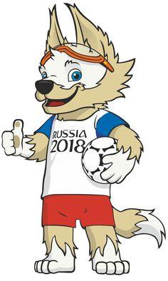 2018 FIFA World Cup Logo & Mascot – Zabivaka Logo [fifa.com] Vector EPS Free Download, Logo, Icons, Clipart