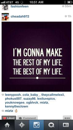 Best of my life
