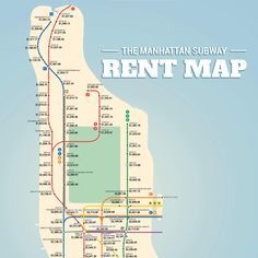 The Manhattan Subway Rent Map: Where you can't afford to live in NYC https://www.thrillist.com/entertainment/new-york/manhattan-subway-rent-map