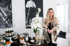 The Skinny Confidental  How To Host A Last Minute Holiday Soiree #holidaylook #howtowear #holidayparty #tablescape #Christmas #NewYearsEve #NYE #wintertime
