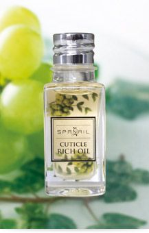 SPANAIL Cuticle Rich Oil  http://www.nailquick.co.jp/commodity/richoil.html