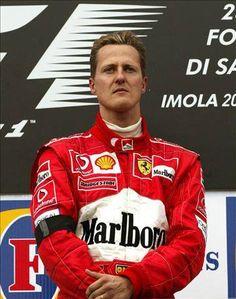 ♥ Michael Schumacher, Imola Victory, But morning his Mothers death. Michael Schumacher, Mick Schumacher, Ferrari Scuderia, Ferrari F1, F1 Racing, Racing Team, Formula 1, Monaco, San Marino Grand Prix
