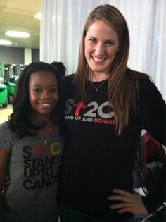 gabby douglas and missy franklin, a great pic?