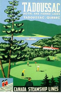 Tadoussac, Quebec * Canada Steamship Lines by Roger Couillard 1960s