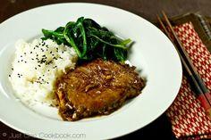Asian Pork Chop (Ginger Soy Sauce)   Easy Japanese Recipes at JustOneCookbook.com