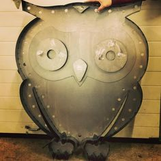 """FUNCTIONAL ART, PHOTOGRAPHY & VIDEO PRODUCTION — This 4"""" owl is in the works for a current client...."""