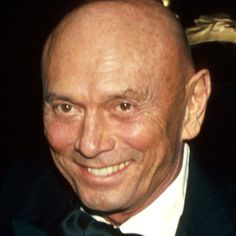 Yul Brynner July 11, 1920 – October 10, 1985  Best remembered for his role as Rameses II in Cecil B. DeMille's The Ten Commandments (1956), and King Mongkut of Siam in the Rodgers and Hammerstein musical The King and I (1951) for which he won two Tony Awards and an Academy Award for the film version in 1956.