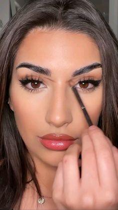 Nose Makeup, Eye Makeup Art, Contour Makeup, Eyebrow Makeup, Skin Makeup, Makeup Eye Looks, Fancy Makeup, Glam Makeup, Simple Makeup