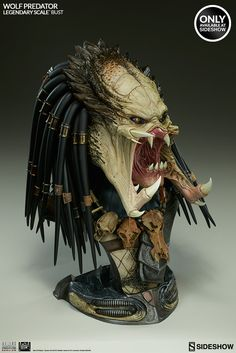 Aliens VS Predator: Requiem Wolf Predator Legendary Scale Bu | Sideshow Collectibles