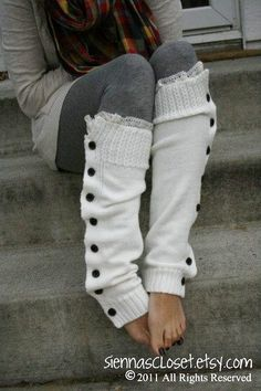I just love leg warmers, probably because they're warm and they remind of when I wore them in dance :)