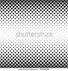 Seamless black and white square pattern background