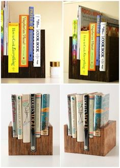 DIY Anthro knockoff bookcase Holy crap I need this noooow Book Projects, Diy Projects, Home Crafts, Diy And Crafts, Shelf Furniture, Diy Pins, Book Worms, 3 D, Anthropologie