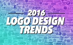 The top best logo designs from 2016, as well as a look at the 2016 logo & branding design trends and an inspirational logo design gallery showcase.