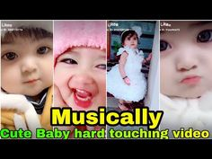 little baby tik tok video|cute baby|cute baby girl|musically cute baby video by yadavmastibrother - YouTube