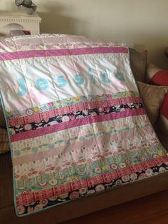 Jessica's cuddle quilt