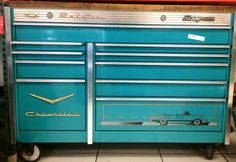 Bel Air Chevolet Snap-On Box Tool Box For more info call us at 818 994-1586 Tell us you saw it on Pinterest