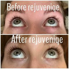 Amazing results using Monat's Rejuveniqe Oil on her lashes!!!