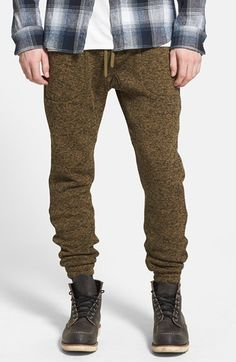 Men's PUBLISH BRAND 'Noel' Heathered Knit Jogger Pants