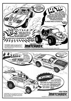 Matchbox Toy Cars Ad 1972 by combomphotos, via Flickr
