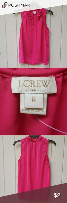 J crew ruffle collar blouse Excellent condition no signs of wear Tops
