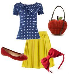 Dress Like a Disney Princess: 11 Princess Inspired Outfits | Babble...Snow White!