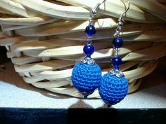 Aretes azul