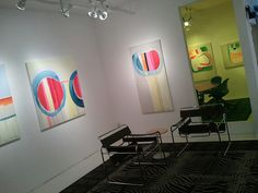 """""""Transition"""" exhibition by Claire Desjardins, November 2011: main room."""