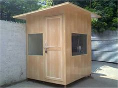 Expert Roofing Systems provide well designed pre fabricated security guard cabins. A security cabin is a must to ensure that these hard working security guards stay protected from the various weather conditions like cold, rain, storms or heat.