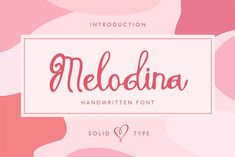 Melodina Script is a handwritten font with unique character, pretty and girly. Those all will make you work easily to create : Wedding invitation, Posters, Handwriting Fonts, Script Fonts, All Fonts, Wedding Invitation Posters, Hand Drawn Fonts, Open Type, Beautiful Fonts, Premium Fonts, Quote Prints